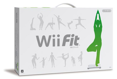 Wii Fit Japan Box Art