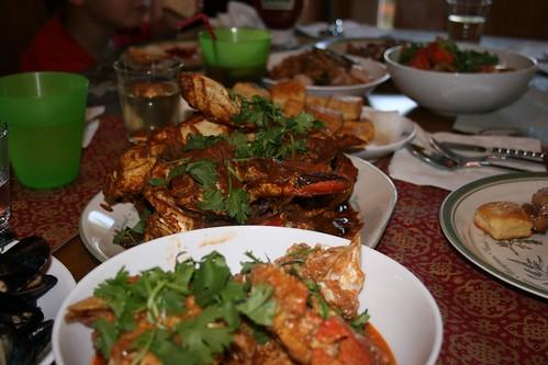 Singaporean Seafood Fest for birthday