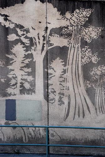 Reverse Graffiti ~ Moose