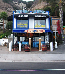 Malibu Fish Grill on Malibu Surf Shack Fish Grill  Timschmidt  Digammo   Tags  California