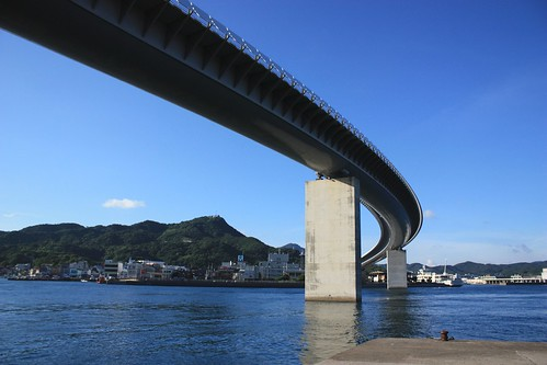 Ushibuka Hire Bridge+Kaisaikan