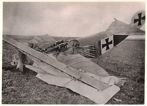 Plane crash, crash video plane, airplane crash, aircraft crashes - WW1 german aeroplane crash