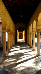 UWA (Filor) Tags: canon reflections lights university oz under columns australia down powershot western wa column geography aussie riflessi occidentale luce afs colonna uwa colonnato g9 intercultura filor waati