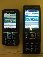 Web - Sony Ericsson C905 vs K850i