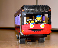 The prize winning school bus!