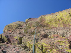 Our Downclimb to the Rappel Gully-Nervy