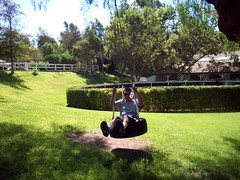 country club (legogrrl4) Tags: trees horse white green grass fence sunday tire swing stables