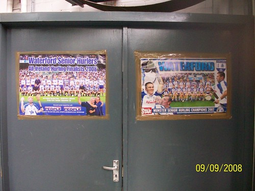 Ireland - Waterford Crystal Factory Tour  - Hurling posters