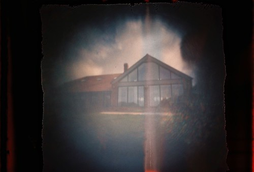 Saints View through the pinhole