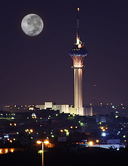 This is Riyadh (ALQABBANI) Tags: city en moon tower television night lune de tv tour ministry culture full honey saudi arabia miel information nuit riyadh ksa the pleine riyad arabie saoudite