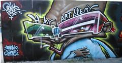 Odisy (Heavy Artillery) Tags: graffiti brighton heavyartillery odisie odisy