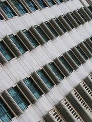 Balconies.. (beecave00) Tags: blue architecture buildings hotel utah flickr rooms angle balcony perspective grand saltlakecity balconies luxury grandamericahotel highfloors
