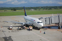 Air Philippines Boeing 737-200 at Iloilo Airport