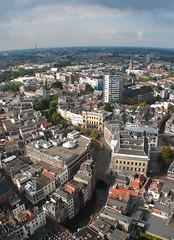 View from Domtoren (papillion_1) Tags: netherlands utrecht domtoren oudegracht