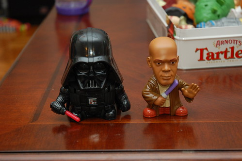 Darth and Mace Windu