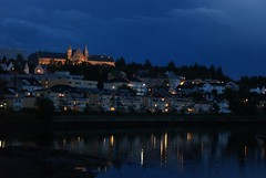 The night is coming (Mik8) Tags: norway night trondheim notte norvegia notturno palazzoreale