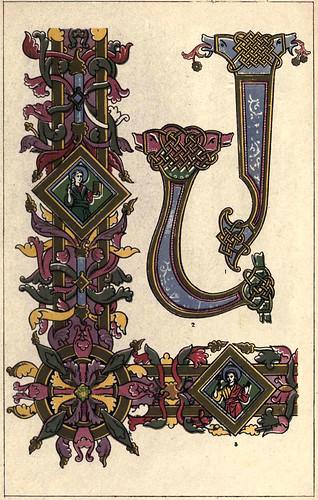 04- Siglo X- Motivos tomados de los Evangelios de Canuto, en Winchester