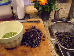 making grape jam