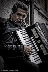 Accordion Player, Dublin (mgrat) Tags: dublin photoshop accordion davehill lightroom postprocessing photowalkthrough betterthangood