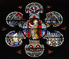 Lepanto and the Rosary (Lawrence OP) Tags: pope london church glass dominican battle stained rosary priory stdominics ourlady lepanto piusv