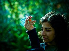 Faaaso (::: M @ X :::) Tags: 50mm dof bokeh cigarette smoking fumar negra cigarrillo faso cumplenaty