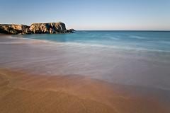 Quiberon - Port Bara (Gwennol) Tags: ocean sea mer beach water port canon pose brittany waves wave bretagne breizh bara paysage onde bzh tempete atlantique ocan quiberon longue cotesauvage