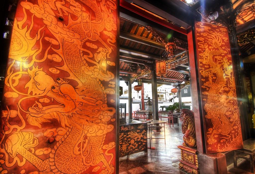 The Dragon Gate in Malacca