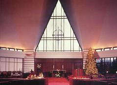Geist Christian Church at Christmas