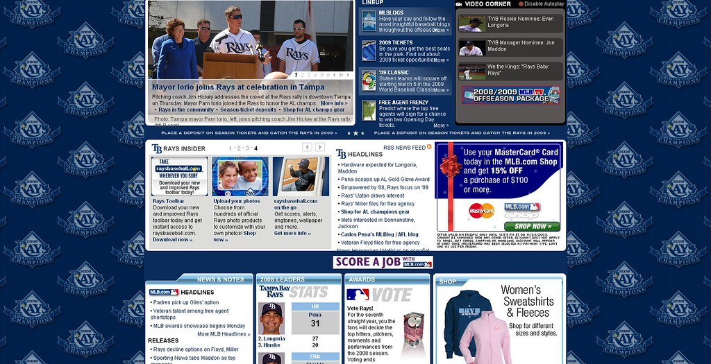 Tampa Bay homepage
