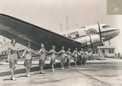 DC-3 Inaugural flight from Malton to Chicago (Sudbury2Malton) Tags: airport dc3 tca malton 1946