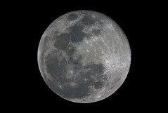 12/13 full moon reprocessed (zAmb0ni) Tags: sky moon canon 300d full telescope crater astrophotography celestron registax