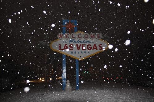 Las Vegas gets heaviest snow