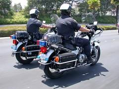 Police - seen in Long Beach, CA