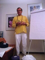 Sukadev im Haus Yoga Vidya Nordsee