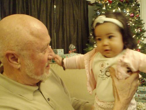 maya & granddad by you.