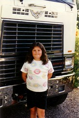 """Daddy""""s Little Sweetness (Saltydoggie) Tags: international cabover"""