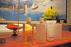 Hermes Bath Products (Sarah_Ackerman) Tags: travel bathroom hotel dubai uae middleeast suite hermes luxury unitedarabemirates burj bathproducts 7stars burlalarab