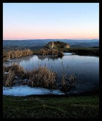 (Morg. [non esprime emozioni]) Tags: inverno ghiaccio laghetto podere radicofani ghiacciato