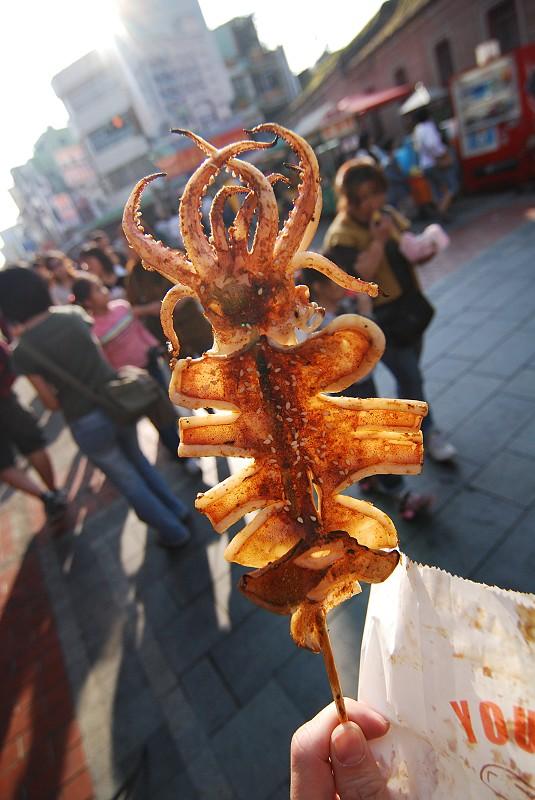 好吃的烤魷魚