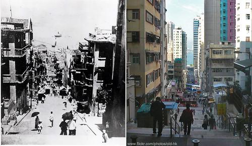 HK Man (反對遷拆尖沙咀百年巴士總站) 拍攝的 西營盤 - 正街。