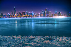 Arctic City (HDR MAX) (kern.justin) Tags: winter lake chicago cold ice nikon december lakemichigan d100 hdr adlerplanetarium ariea colorphotoaward flickrdiamond overtheexcellence discoveryphotos alemdagqualityonlyclub vosplusbellesphotos dragondaggeraward artofimages kernjustin flickrclassique hdrmax