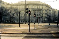 red lights (Fotis ...) Tags: vienna city streets cross emptystreets redlights