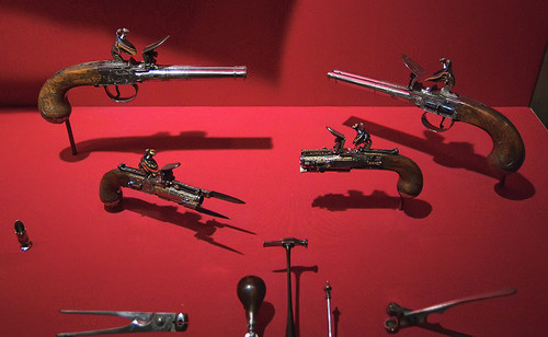 Saint Louis Art Museum, in Saint Louis, Missouri, USA - pistols