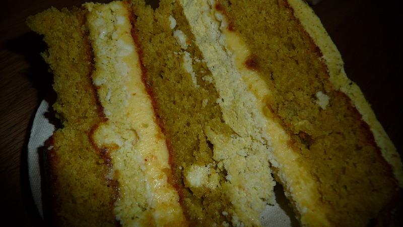 Yummy! Pistachio cake at Milk Bar