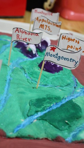 salt dough map flags UP