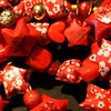 Red Twinkle And Tinkle Star Garland