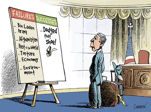 george w bush cartoon. George W Bush#39;s Achievements