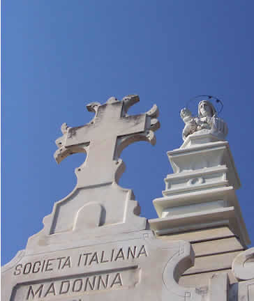 Societa Italiana Madonna Tomb