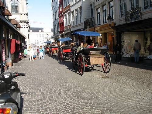 Horse Drawn Carriages, Brugge
