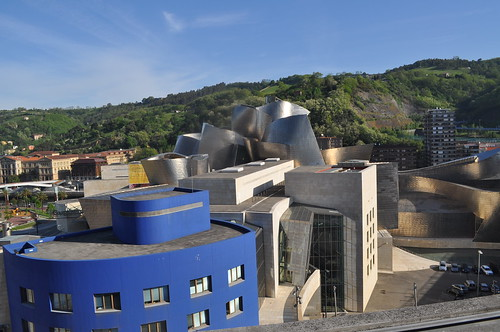 Vista del Guggenheim desde la terraza
